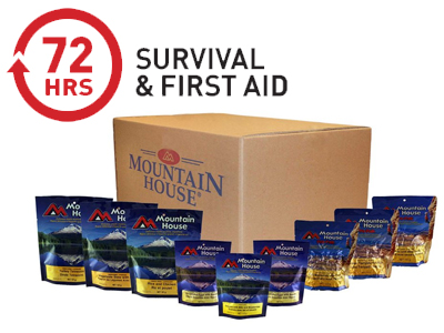 Mountain House® 72-Hour Emergency Meal Kit